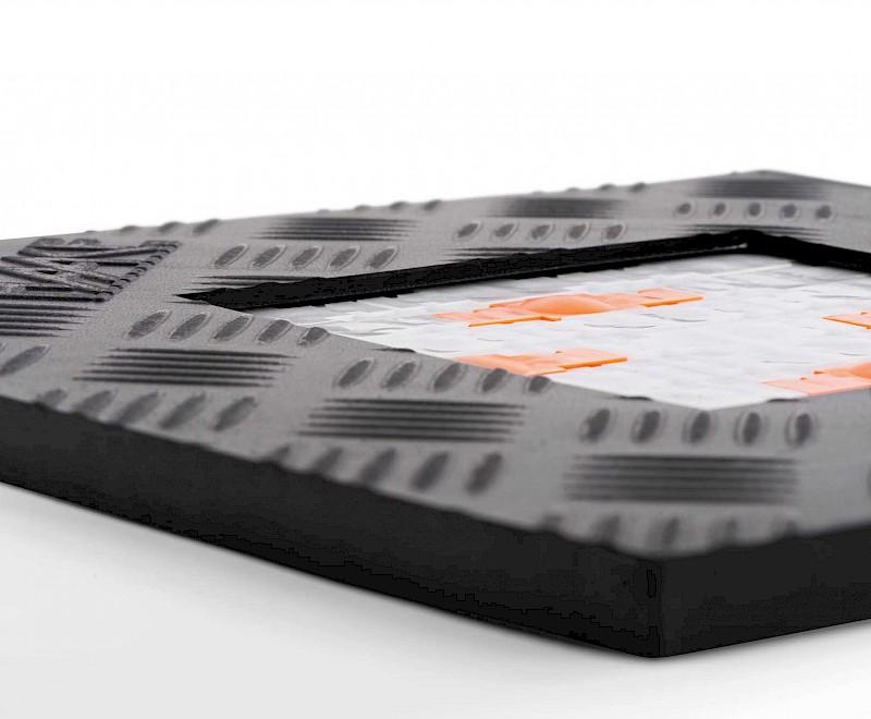 Schaltmatte von Haake Technik im Detail