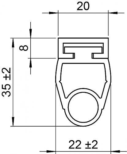 Schaltleite HSC 35-20-01 T