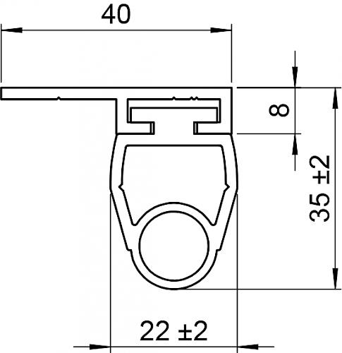 Schaltleiste HSC 35-20-03 T