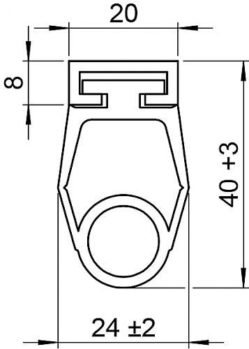 Schaltleiste HSC 40-20-01 T