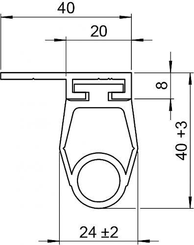 Schaltleiste HSC 40-20-03 T