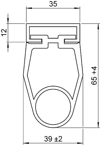 Schaltleiste HSC 65-35-01 T