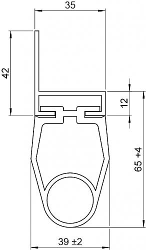 Schaltleiste HSC 65-35-02 T