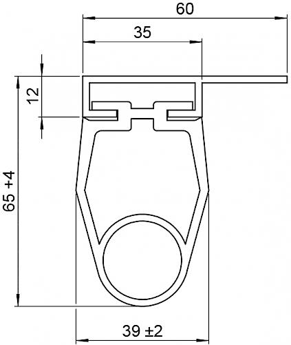 Schaltleiste HSC 65-35-03 T