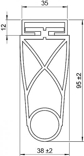 Schaltleiste HSC 95-35-01 T