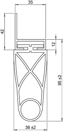 Schaltleiste HSC 95-35-02 T