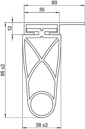Schaltleiste HSC 95-35-03 T
