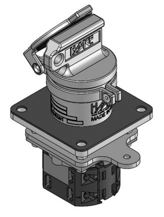 Key operated switch HST-SE1