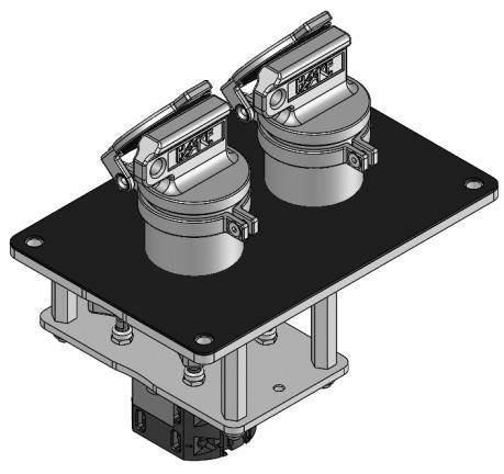 Key operated switch HST-SE2