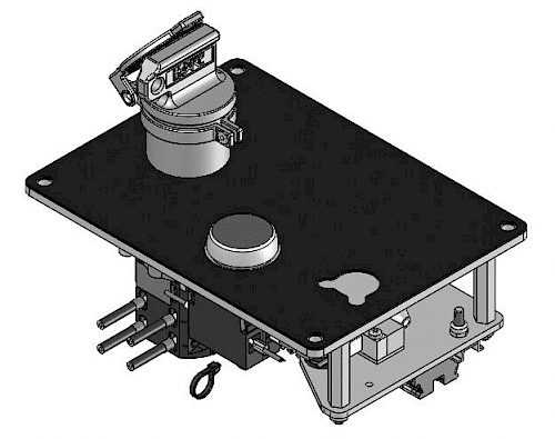 Solenoid controlled switch HST-ME1