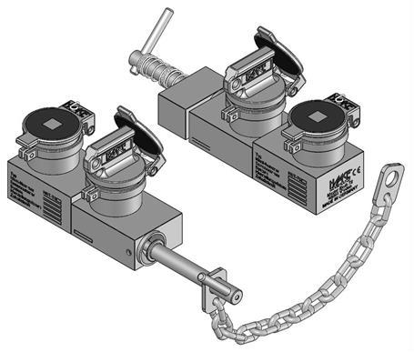 Access lock HST-TS2